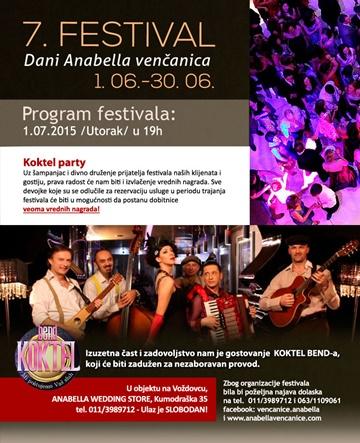 7. festival Dani Anabella vencanica  jun 2015