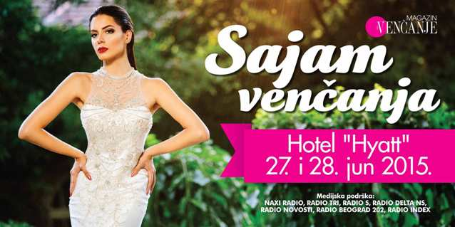 15. Wedding Weekend u Hotelu Hajat 27. i 28. juna 2015.