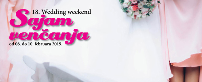 SAJAM VENČANJA-WEDDING WEEKEND U HOTELU HYATT od 08.-10.02.2019.