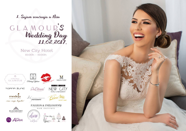 Glamour's Wedding Day u Nišu 11.2.2017