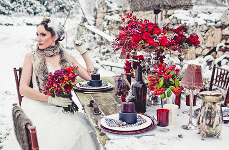 Venčanje na snegu Inspiracija II