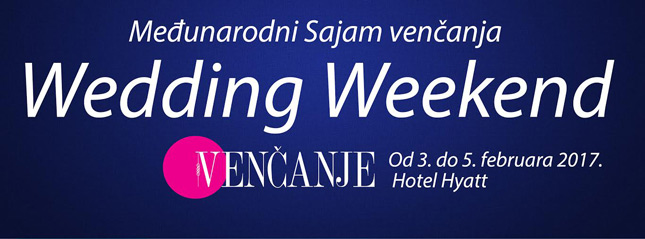 Wedding Weekend 2017 od 3. do 5. februar Hotel Hyatt